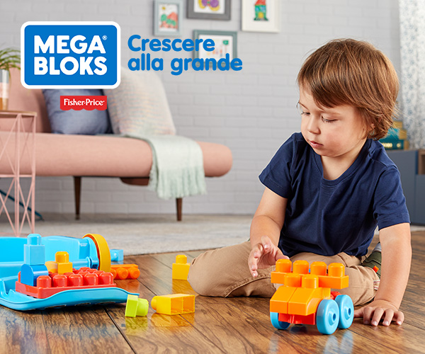 Trolley Costruisci e Vai! Mega Bloks